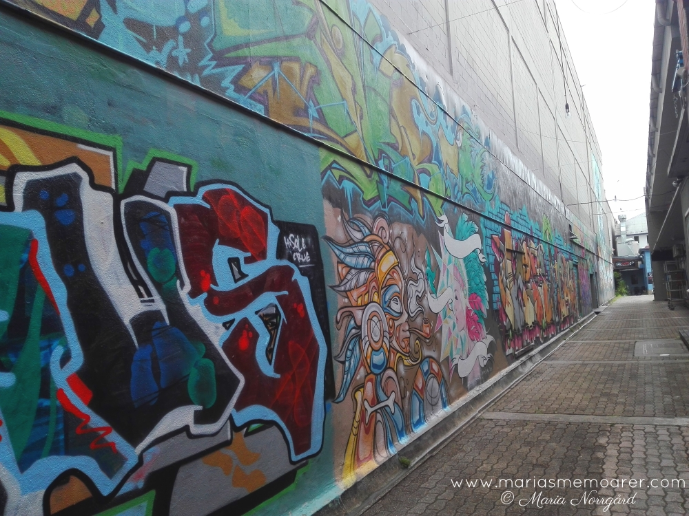 graffiti alley in Cairns, Queensland
