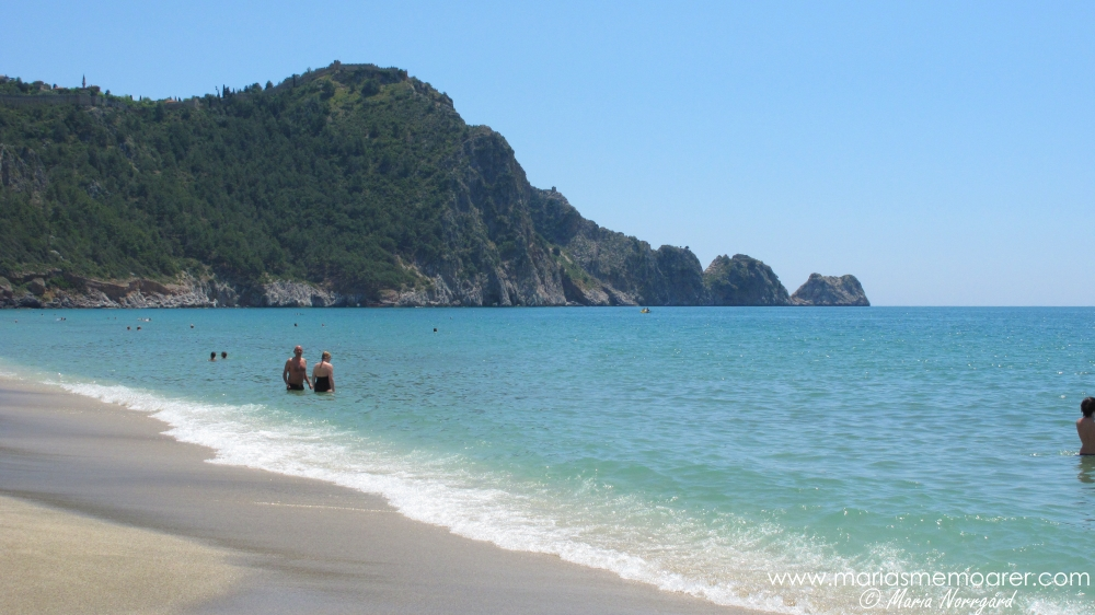 Kleopatra Beach in Alanya, Turkey
