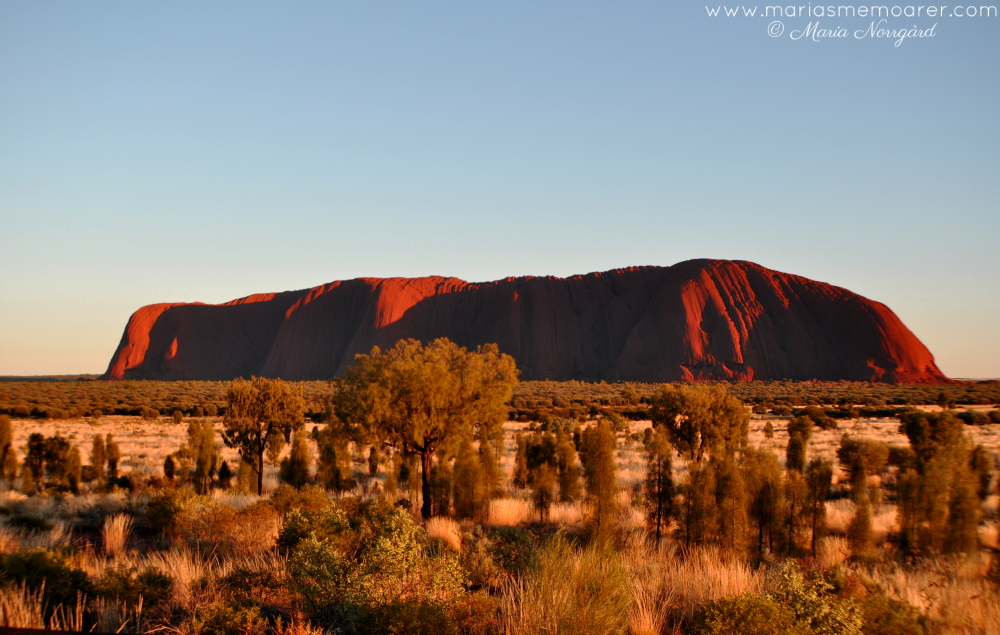 underverk i världen / wonders of the World - Uluru / Ayers Rock Australien / Australia