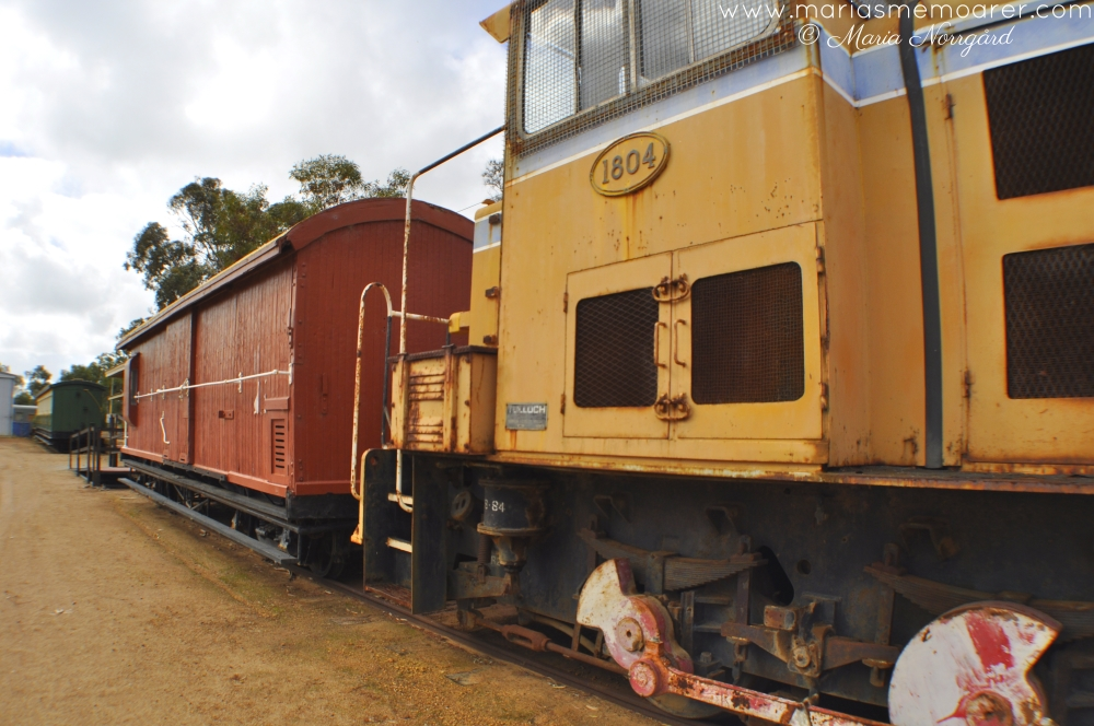 WA Southhampton - old trains