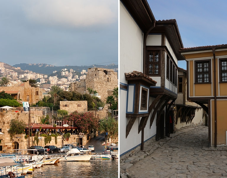 top 10 oldest cities in the world - in the picture: Plovdiv and Byblos / topp 10 äldsta städer