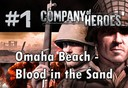 company of heroes omaha beach blood in the sand