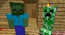 minecraft rap battle creeper vs zombie