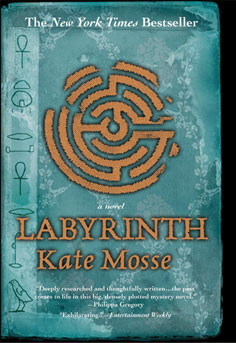 Omslag, Labyrinth av Kate Mosse