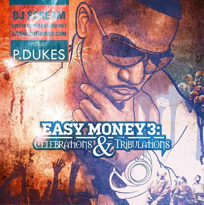 P.Dukes Easy Money 3 celebrations & tribulations cover