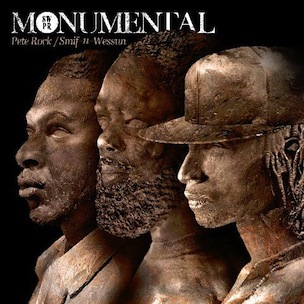 Smif N Wessun & Pete Rock - Monumental Cover