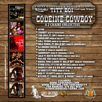 Tity Boi - Codeine Cowboys Back