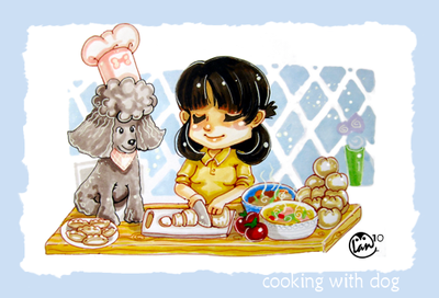 Cooking With Dog YouTube Chibi Nihon blogg