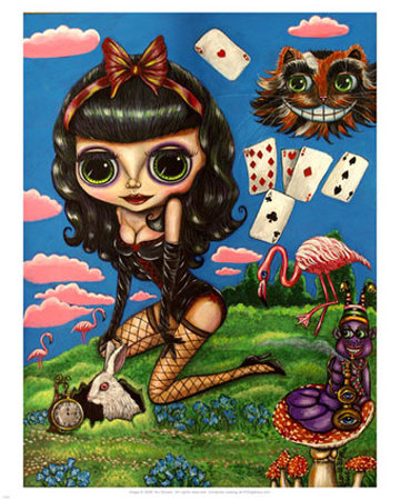 alice in wonderland can be sexi.