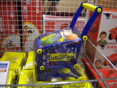 Ullared shoppingvagn till barn