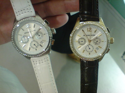 Two Michael Kors watches I really liked