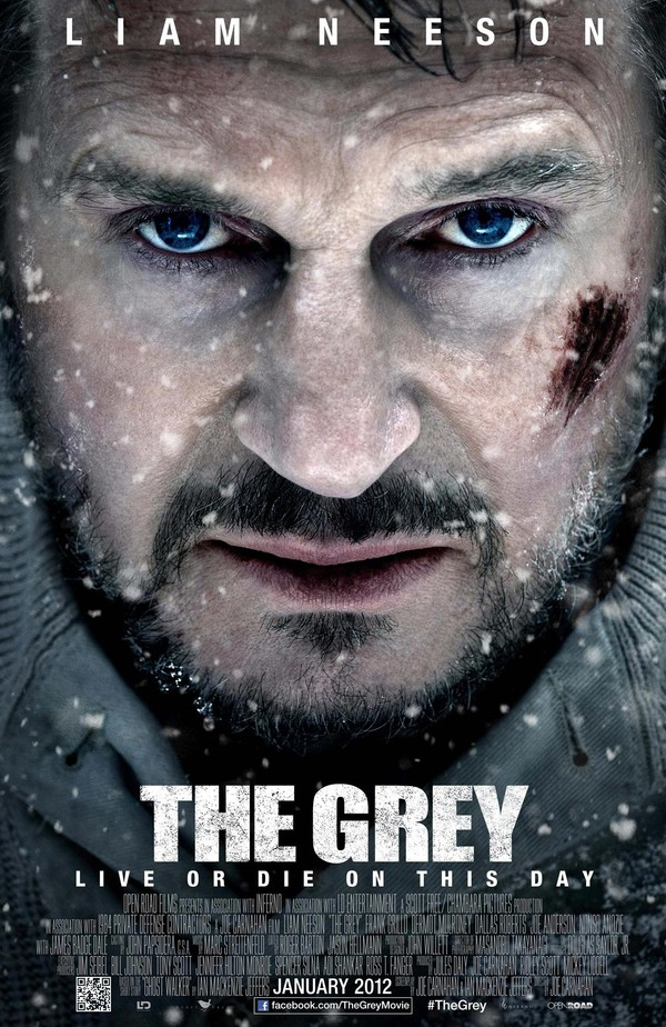 Film: The Grey - Liam Neeson jagad av vargar