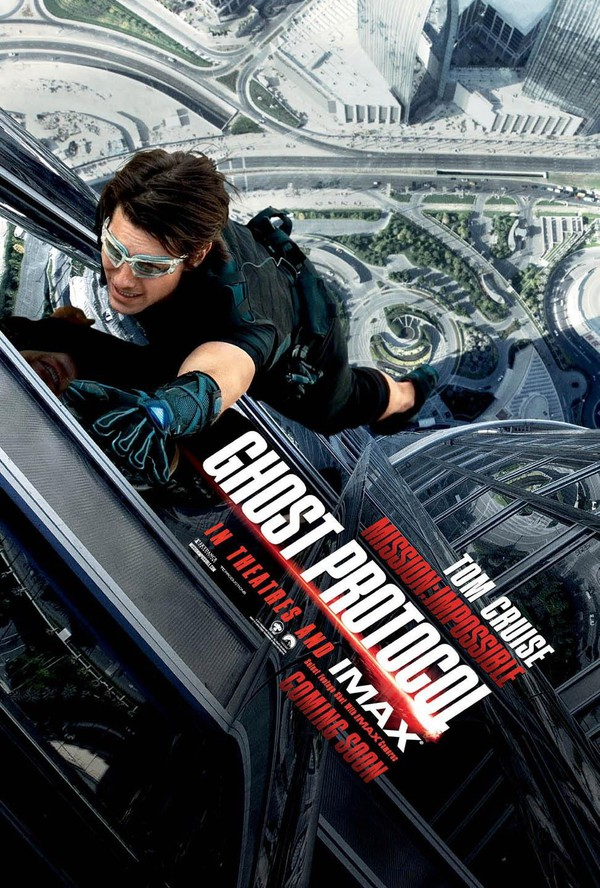 Film: Mission: Impossible - Ghost Protocol - Standardaction med Tom Cruise