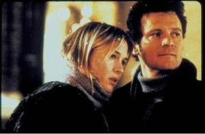 Renée Zellwegger & Colin Firth i Bridget Jones dagbok