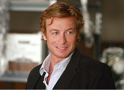 Simon Baker som Patrick Jane i The Mentalist