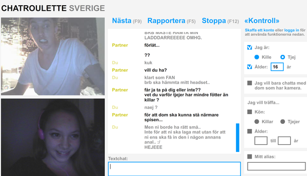friend finder chatroulette norge jenter
