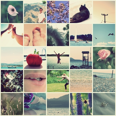 sommarcollage