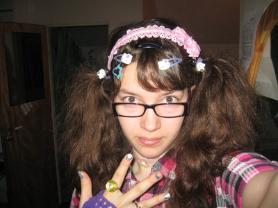 Me trying out decora