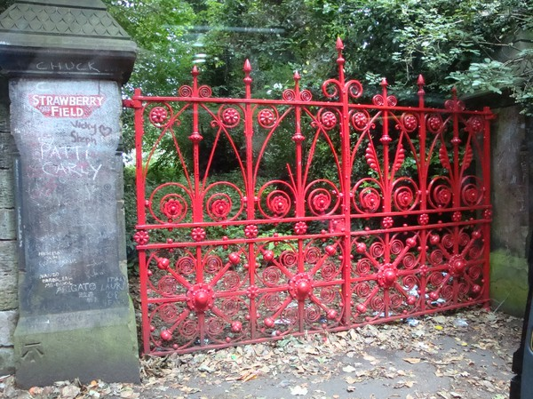 Strawberry Field i Liverpool.
