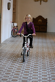 Carmelite Monestry and Priory Museum. Bicycling Children Malta
