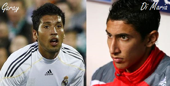 Ezequiel Garay & Angel Di Maria