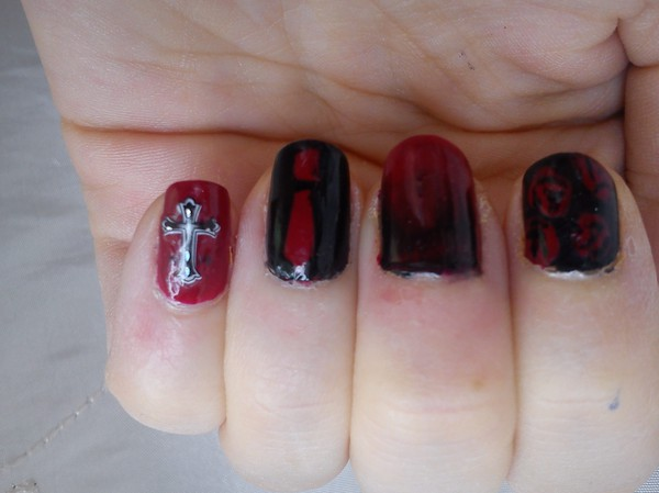 My chemical romance Helena Nails