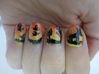 Sunset Nail Colour2