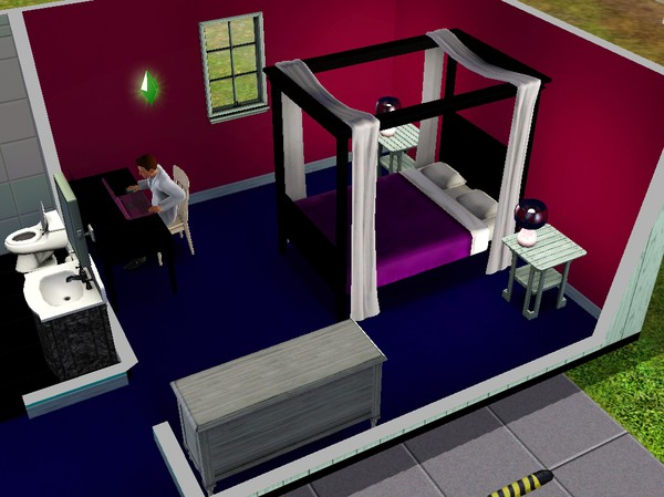Snyggt sovrum i The Sims 3