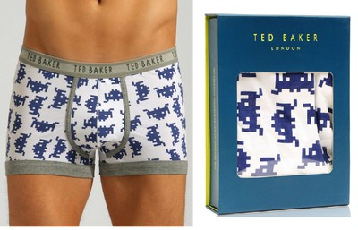 space invaders underwear briefs boxers