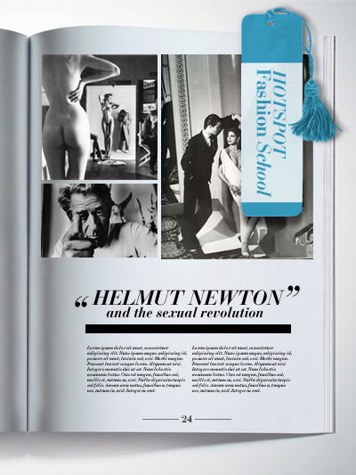 Fashion School - Helmut Newton and the sexual revolution
