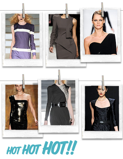 0fcfb3369383 Övre raden: House of Hollan, Givenchy, Michael Kors Nedre raden: Herve Leger  by Max Azria, Gucci, Costume National
