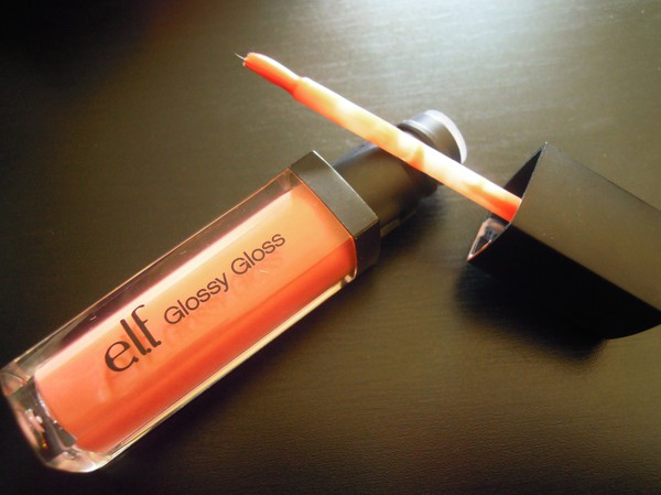 Elf glossy gloss sweet salmon swatches