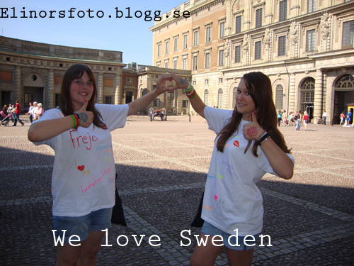 We love Sweden!