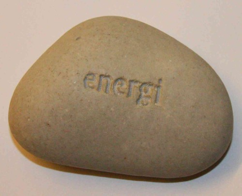 Got this stone from Maria Gunnarsson when she left Tradera..