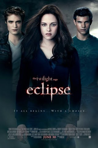 eclipse poster bella swan edward cullen jacob black kristen stewart robert pattinson taylor lautner