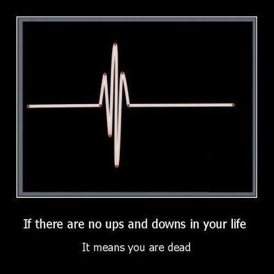 Ups and downs.