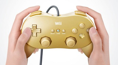Gold Wii Controler