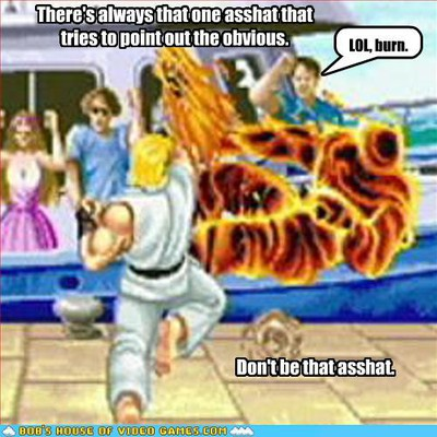 street fighter burn