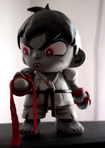 Ryu custom toy street fighter II