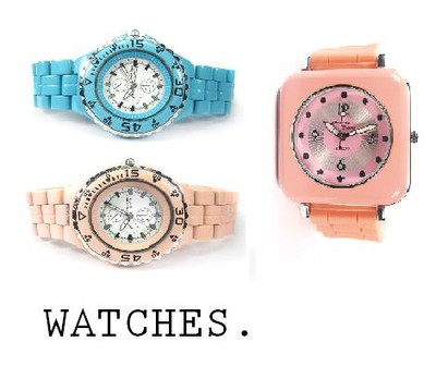 LIGHT PINK WATCHES