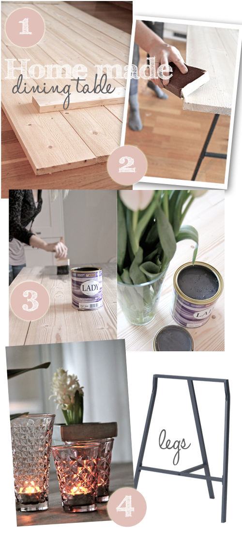 Lucky Mommy diy table | Runt matbord, Köksbord runt, Runt bord