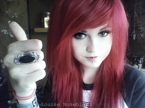hipster emo epicwaste louise nosebleed