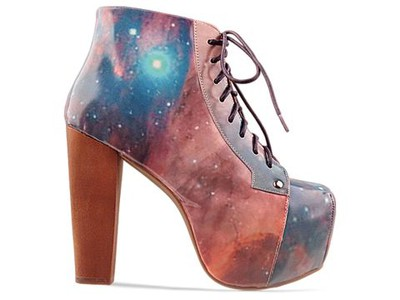jeffery Campell shoes skor jc-skor epicwaste space rymdmönster