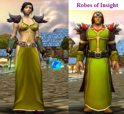 World of Warcraft Robes of insight