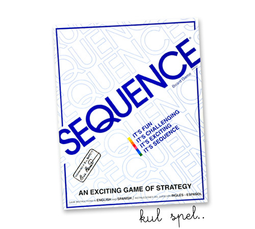 SEQUENCE - kul spel