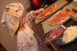 Pizzabagare med turban!
