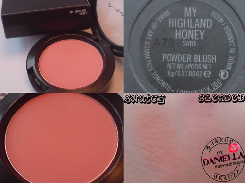 http://thisismed.blogg.se    M·A·C - A Tartan Tale 2010   My highland honey blush [LE]