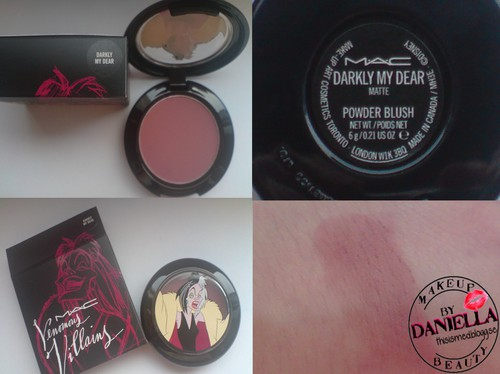 http://thisismed.blogg.se  Darkly My Dear blush [LE; Venomous Villains; Cruella De Vil Collection]