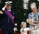 Prins Laurent, Prinsessan Louise och Prinsessan Claire.