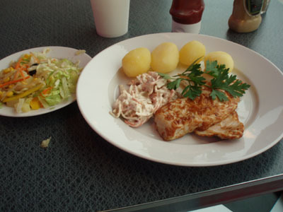 God lunch i Töcksfors
